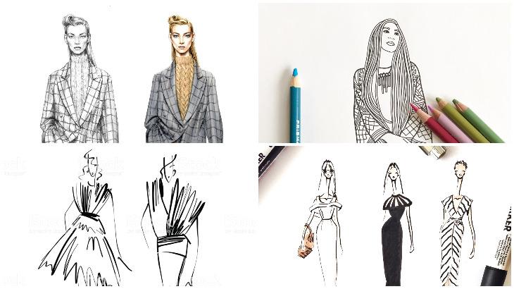 4 Fashion Illustration Tips For Beginners Hamstech Online