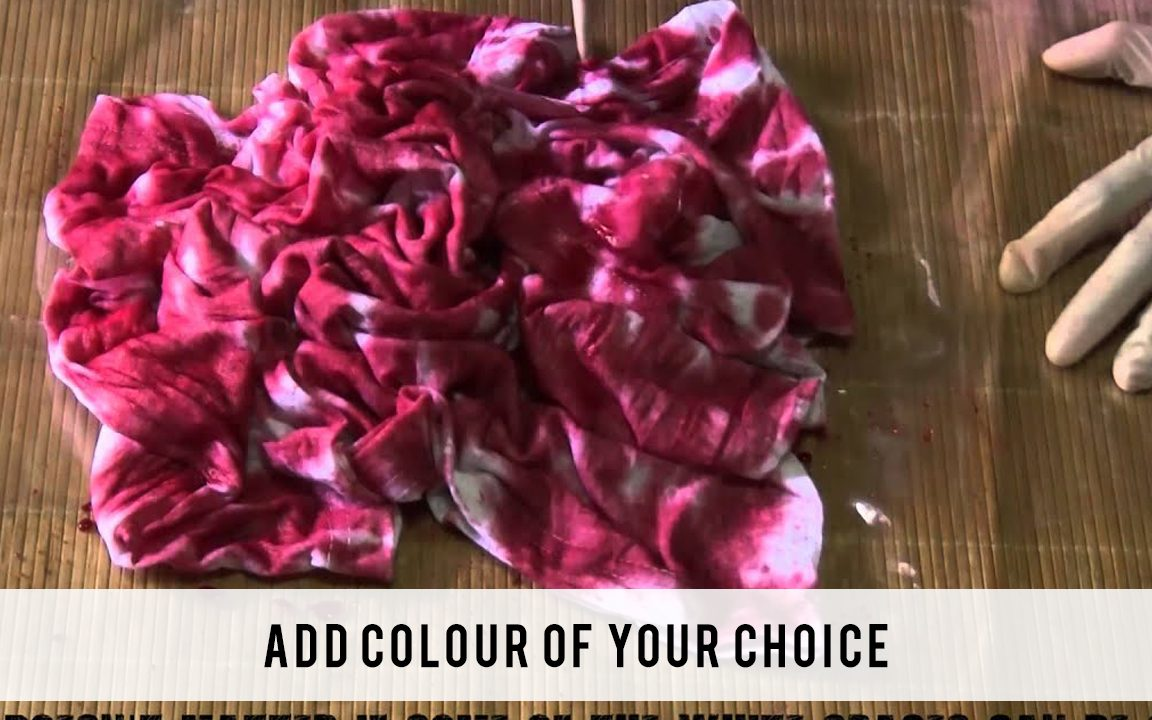 Add colour of your choice