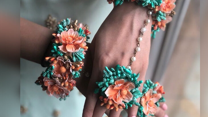 Floral Jewellery Pieces