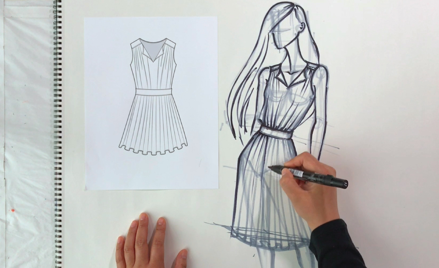 4 Tips To Start A Career In Fashion Illustration Hamstech Online Courses