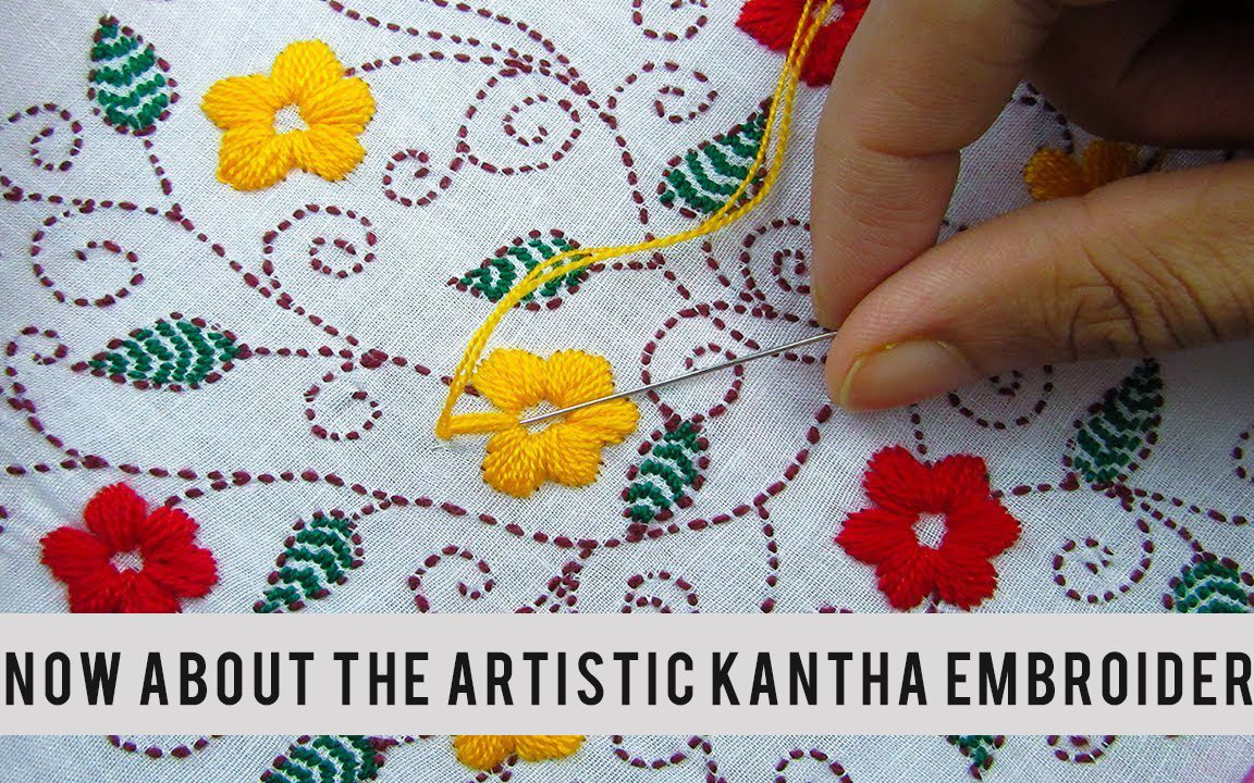 learn hand embroidery at home