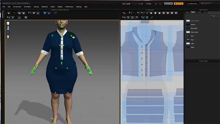 3 Software Used In Computer Aided Fashion Designing