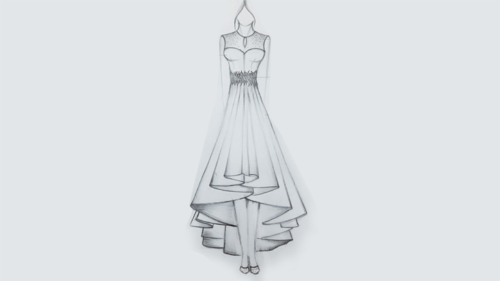 3 Lovely High Low Kurtis That You Can Make Through Fashion Illustration