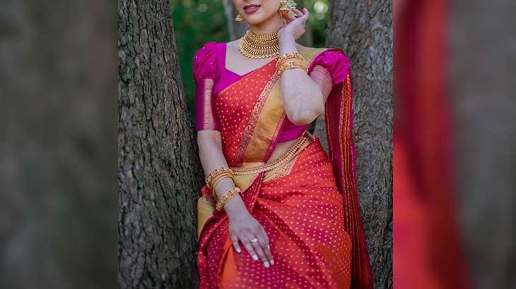 Trendy Sleeve Design Ideas for Saree Blouse