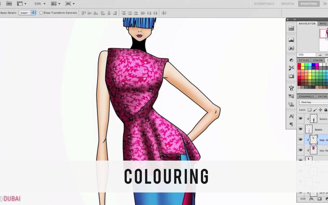 learn fashion designing online in jaipur