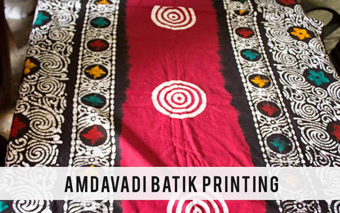 dyeing printed fabric