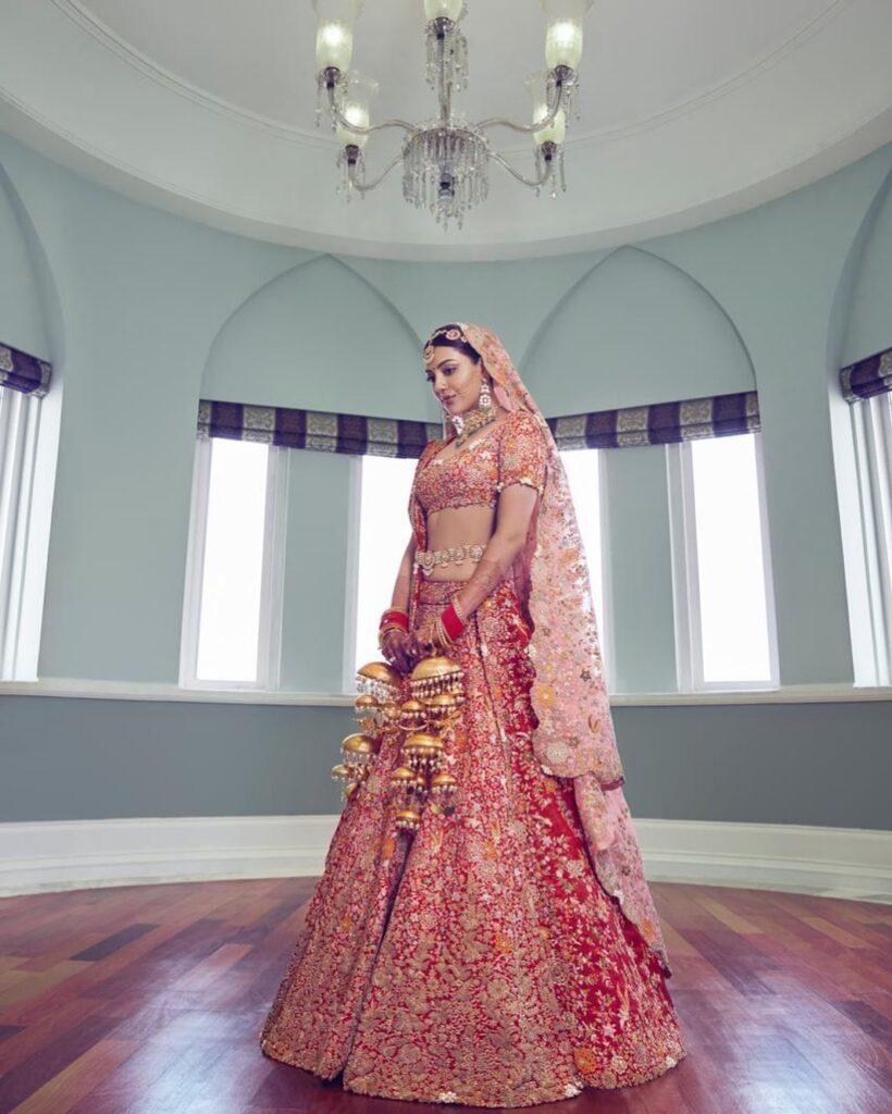 Kajal Aggarwal Wedding Outfit