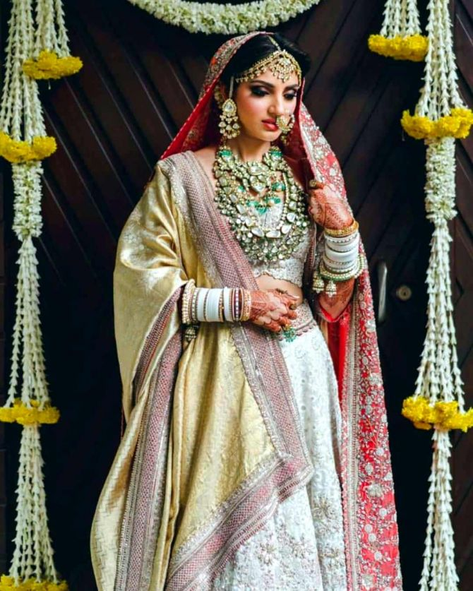 Miheeka Bajaj Wedding Outfit