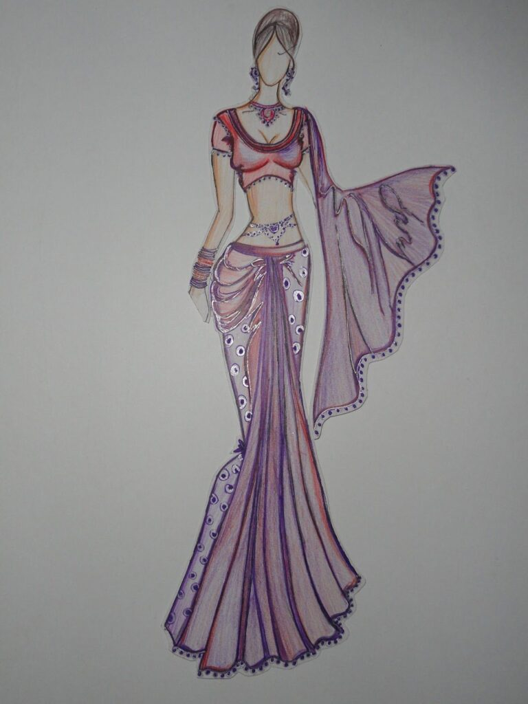 Hunar online Fashion Design Drawing Aspects