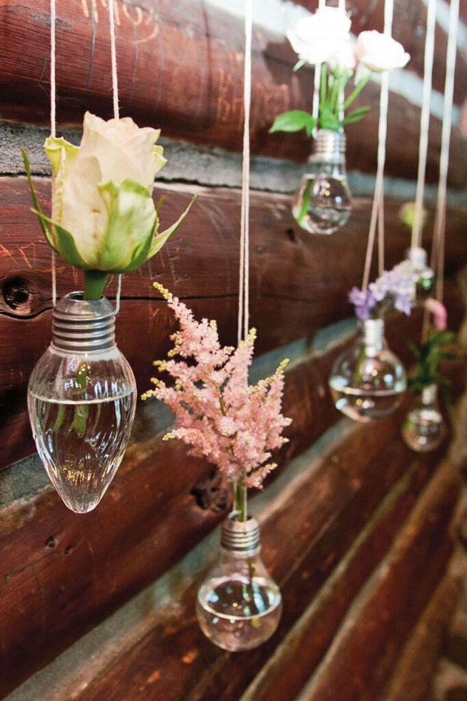 cut blooms decor at home