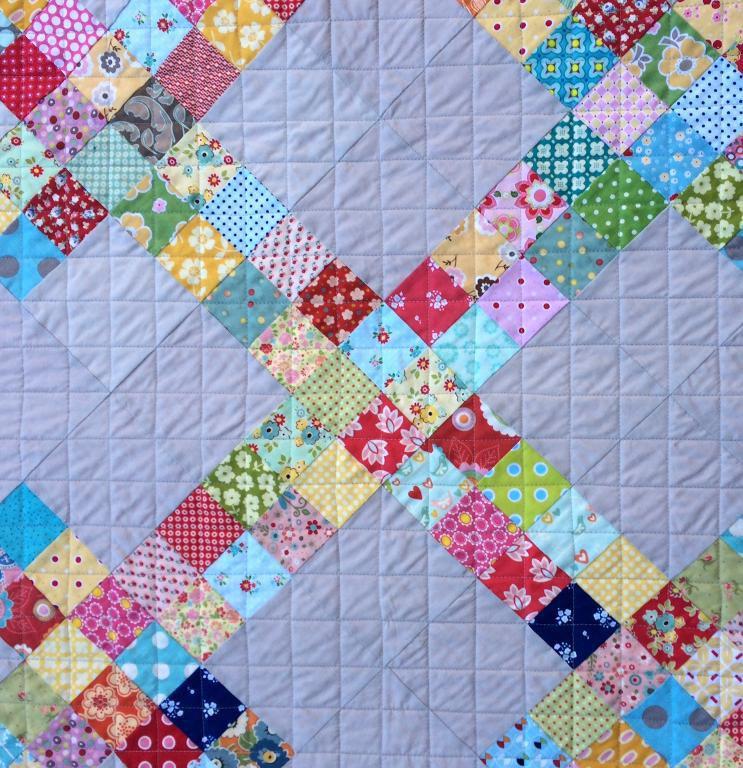 Hunar Online patchwork stitching