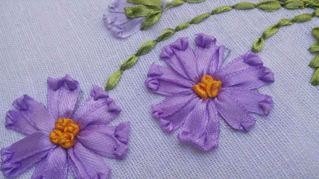 Hunar Online ribbon stitching