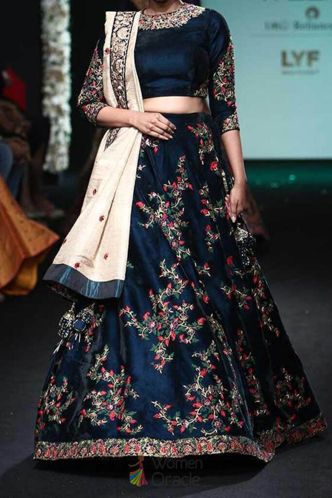 lehenga fashion show