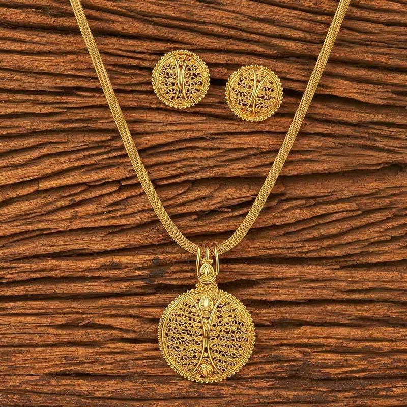 Hunar Online jewellery design gold pendant