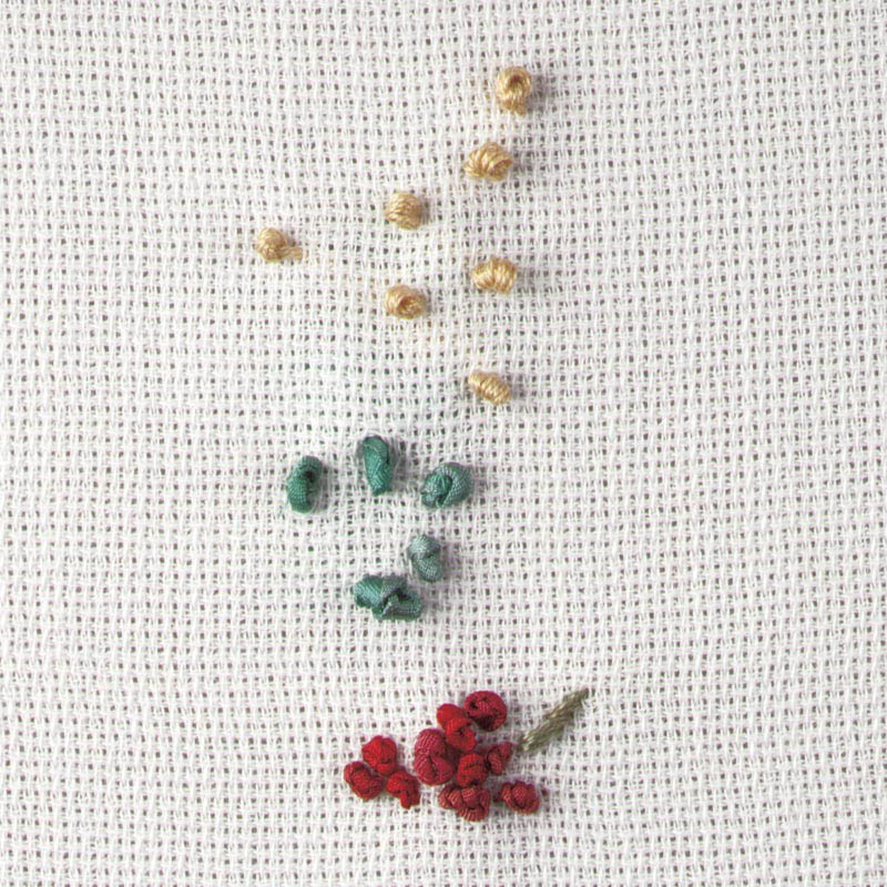 ribbon embroidery fabrics