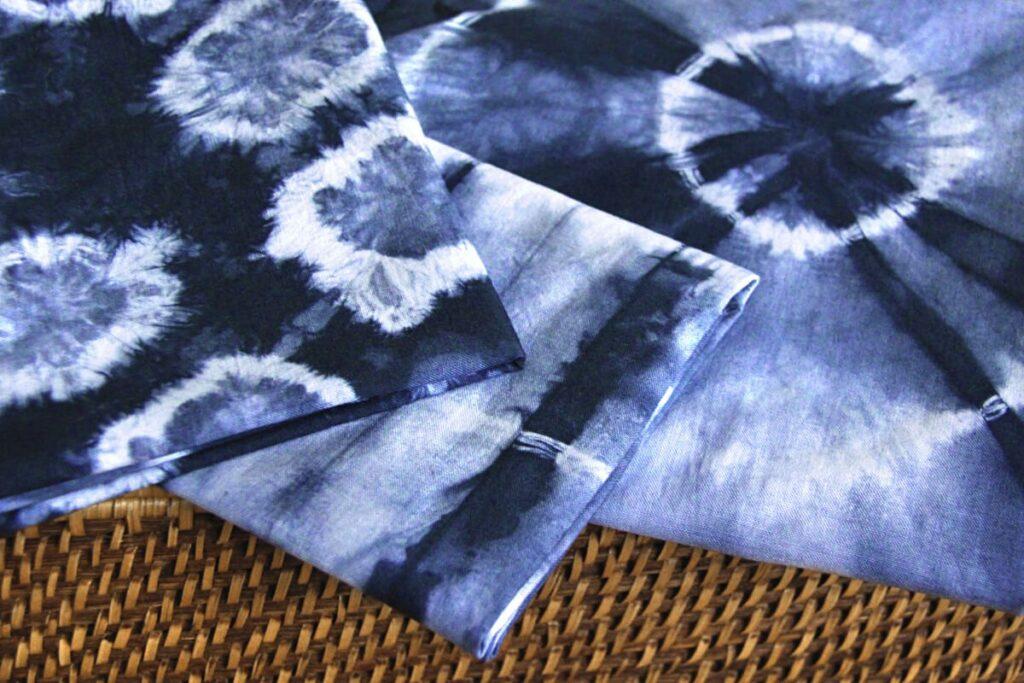 shape resisting dyeing technique