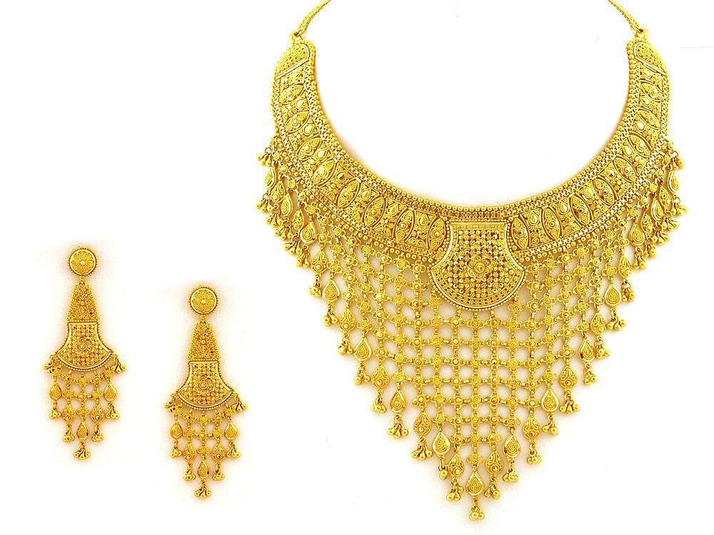 Hunar Online yellow gold jewellery