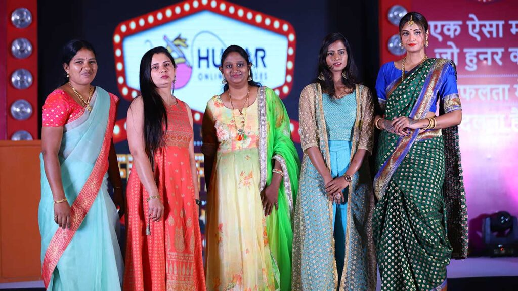 Hunar Fashion Show dress collections