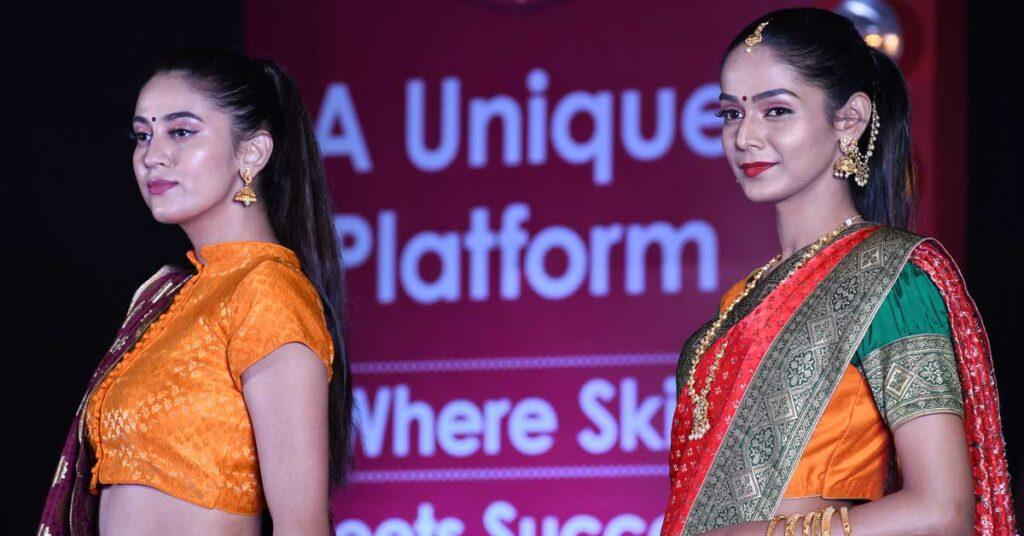 Hunar Fashion Show dress collections
