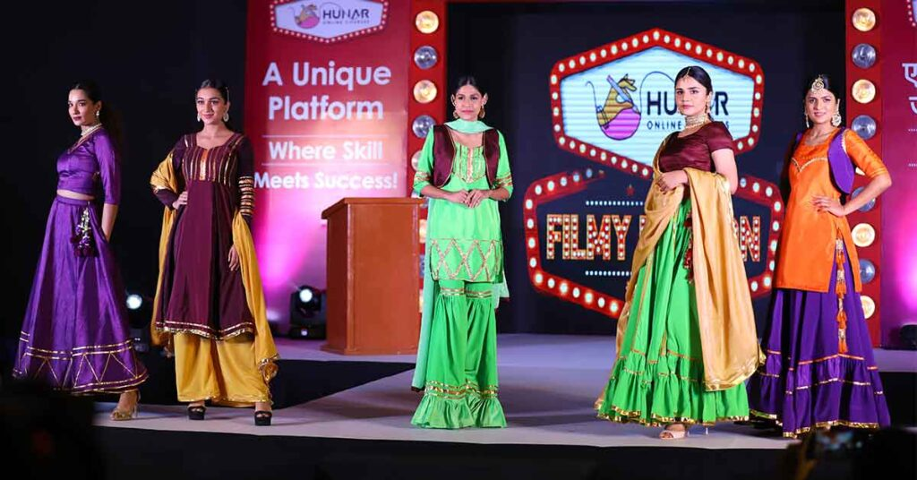 Fashion design show