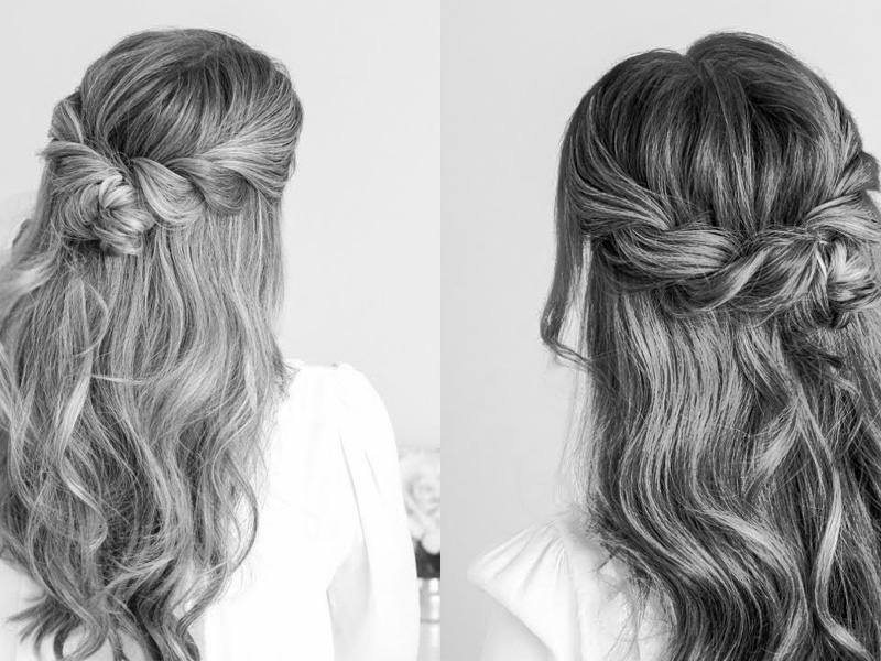 The Half Up Twist hairstyle
