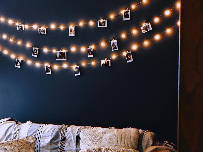 fairy lights at home