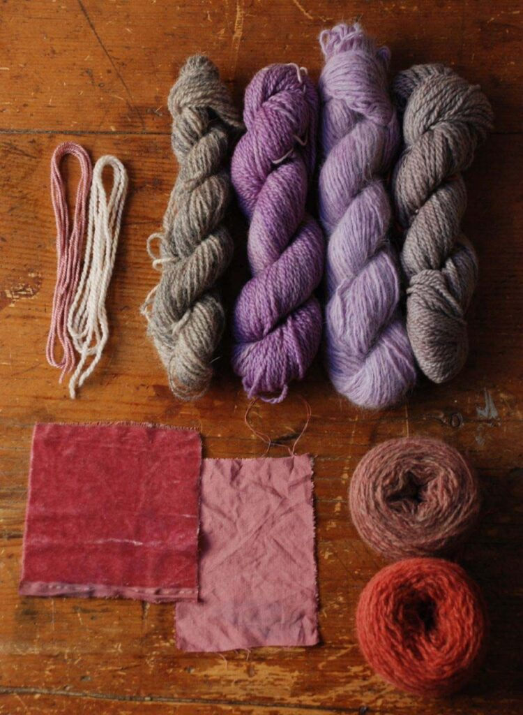 natural dyeing of fabrics
