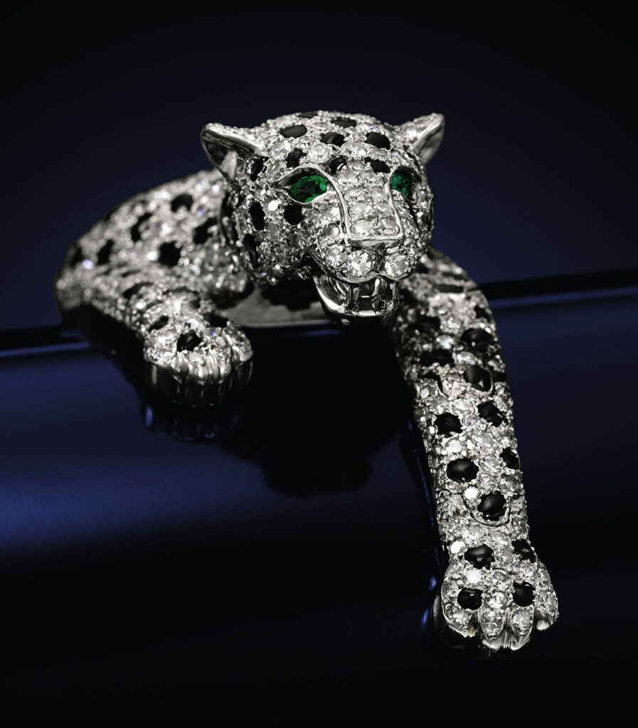 the panther bracelet cartier