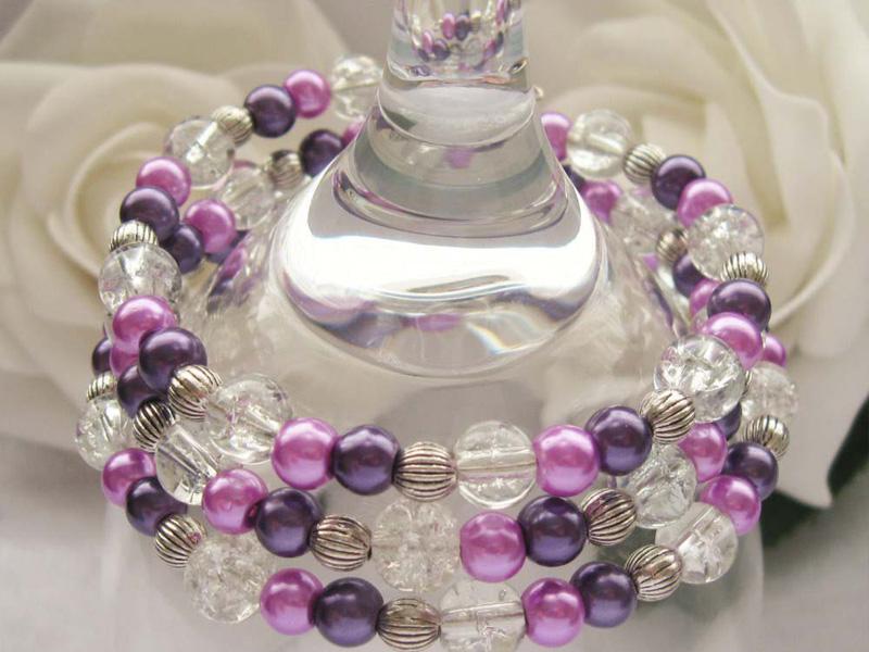 wrap around bead bracelets