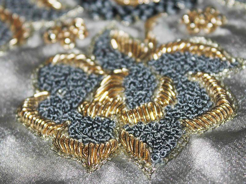 Zardosi embroidery Work