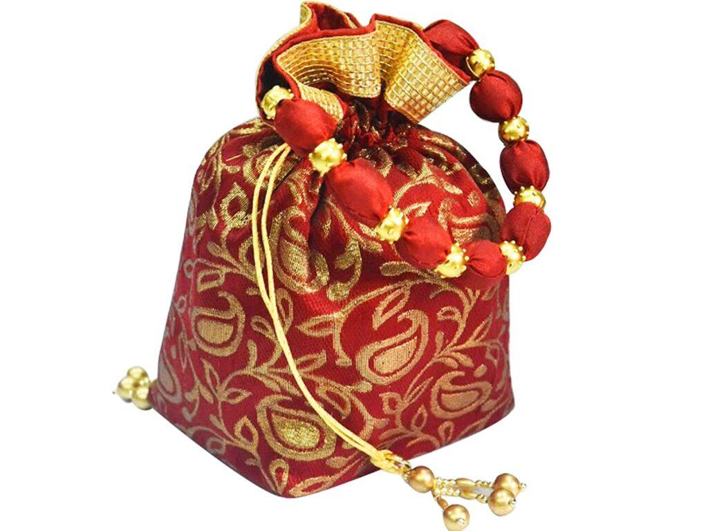 designer bags with sarees