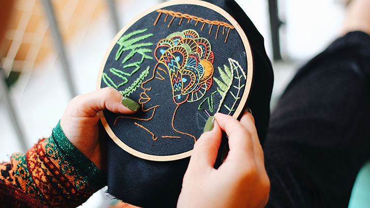 hand embroidery online classes