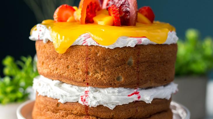 Baking an Eggless Cake