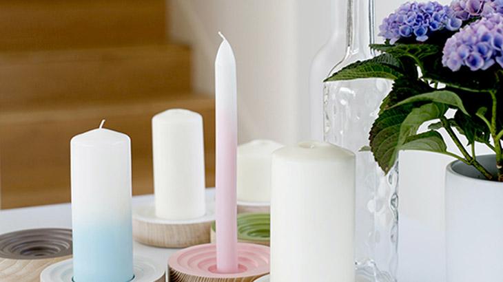 candle making process