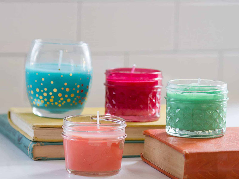 home made candles