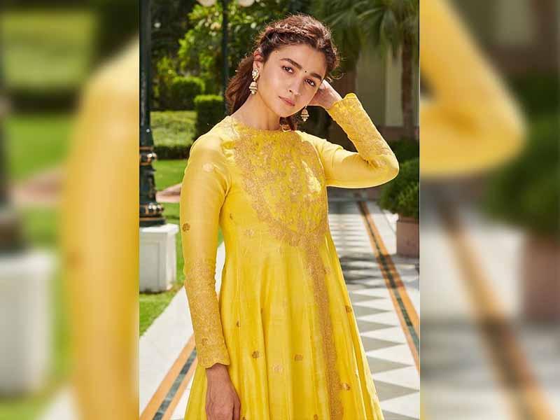 Alia Bhatt in Anarkali Suit