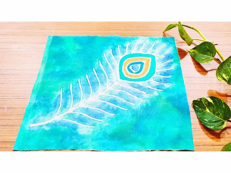 Batik Painting Technique