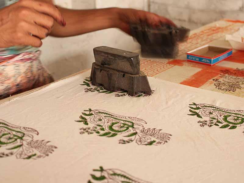 Block Painting Technique