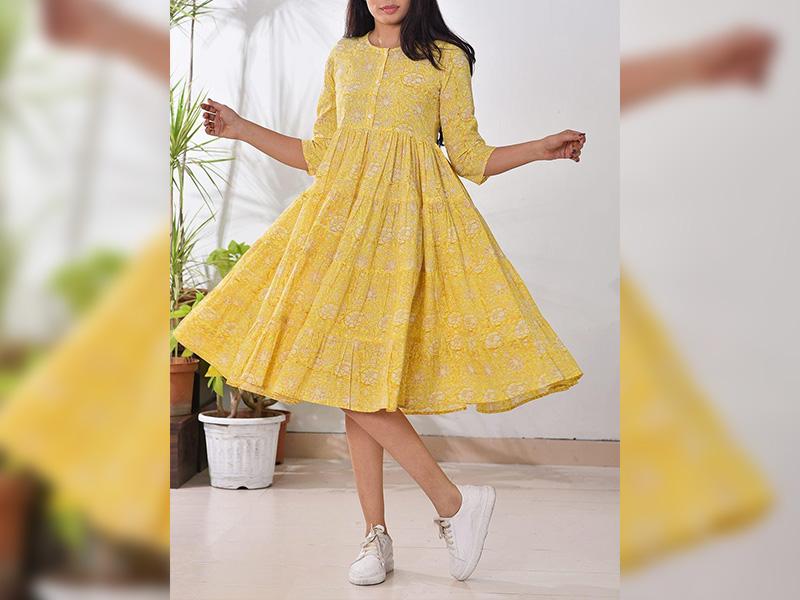 Kurti as a Dress