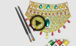 Jewellery Designing - Traditional Gold