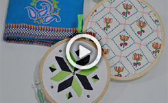 Embroidery - Indian Stitching (Short Course)